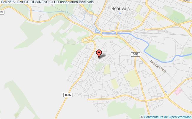 plan association Alliance Business Club Beauvais