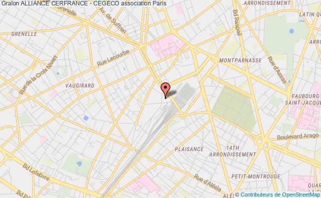 plan association Alliance Cerfrance - Cegeco