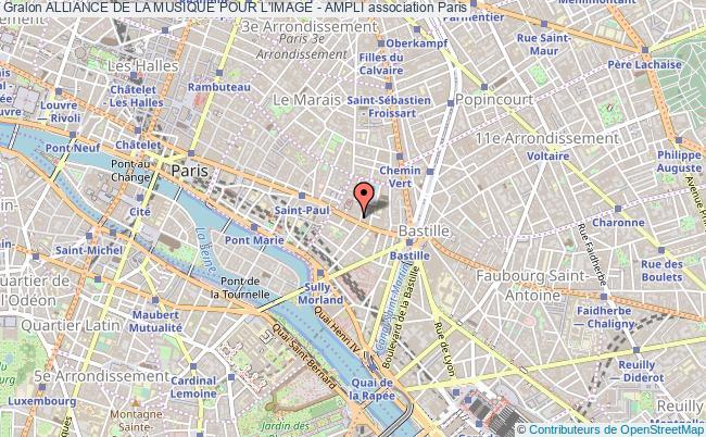 plan association Alliance De La Musique Pour L'image - Ampli