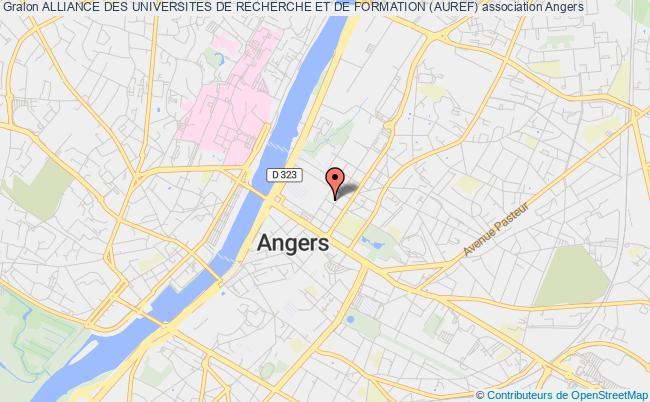plan association Alliance Des Universites De Recherche Et De Formation (auref)