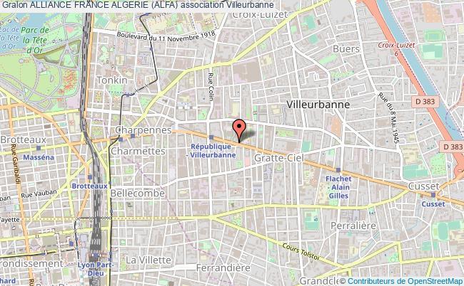plan association Alliance France Algerie (alfa)