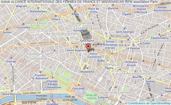 plan association Alliance Internationale Des Femmes De France Et Madagascar Aifm