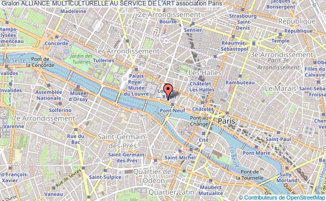plan association Alliance Multiculturelle Au Service De L'art