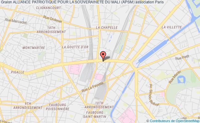 plan association Alliance Patriotique Pour La Souverainete Du Mali (apsm)
