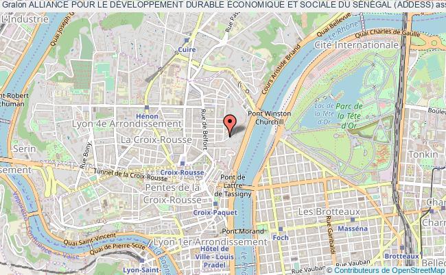 plan association Alliance Pour Le DÉveloppement Durable Économique Et Sociale Du SÉnÉgal (addess)