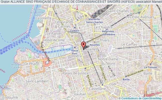 plan association Alliance Sino FranÇaise D'Échange De Connaissances Et Savoirs (asfecs)
