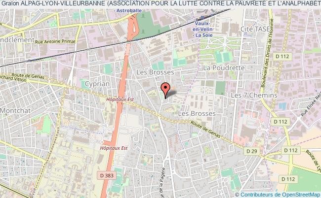 plan association Alpag-lyon-villeurbanne (association Pour La Lutte Contre La PauvretÉ Et L'analphabÉtisme Au Ghana)