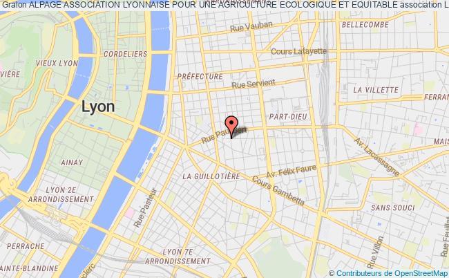 plan association Alpage Association Lyonnaise Pour Une Agriculture Ecologique Et Equitable