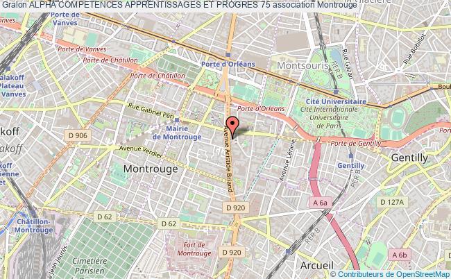 plan association Alpha Competences Apprentissages Et Progres 75 Montrouge