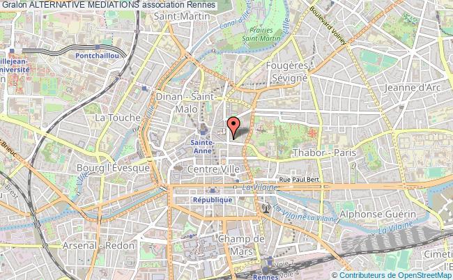 plan association Alternative Mediations Rennes