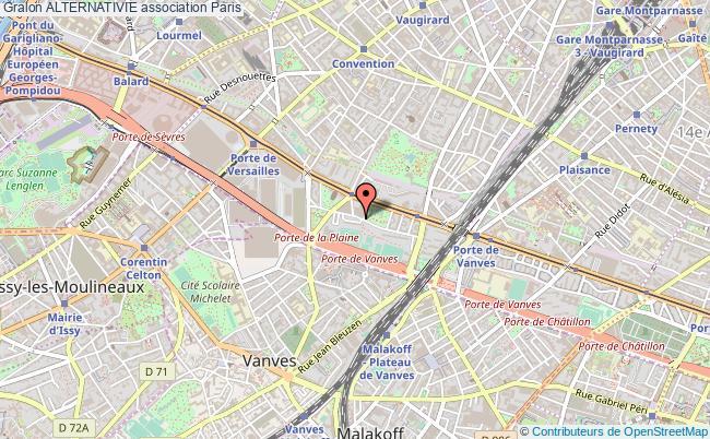 plan association Alternativie Paris