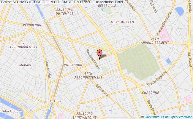 plan association Aluna Culture De La Colombie En France