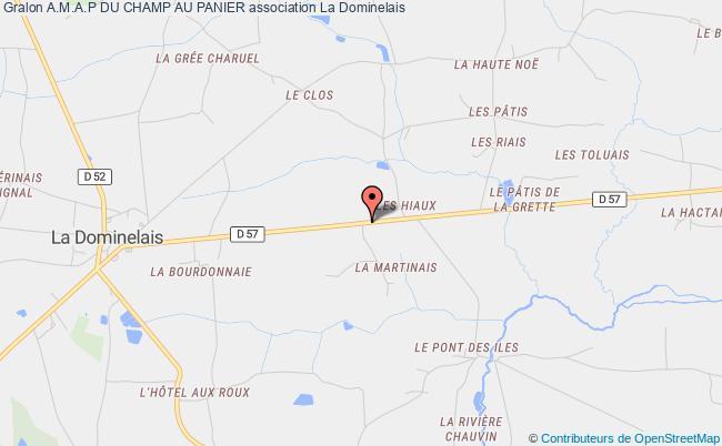 plan association A.m.a.p Du Champ Au Panier La Dominelais
