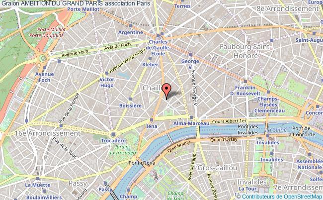plan association Ambition Du Grand Paris