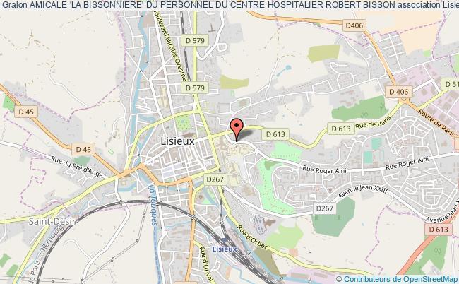 plan association Amicale 'la Bissonniere' Du Personnel Du Centre Hospitalier Robert Bisson