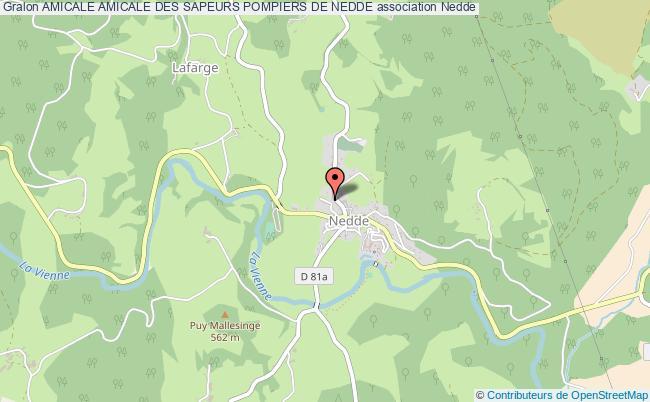 plan association Amicale Amicale Des Sapeurs Pompiers De Nedde