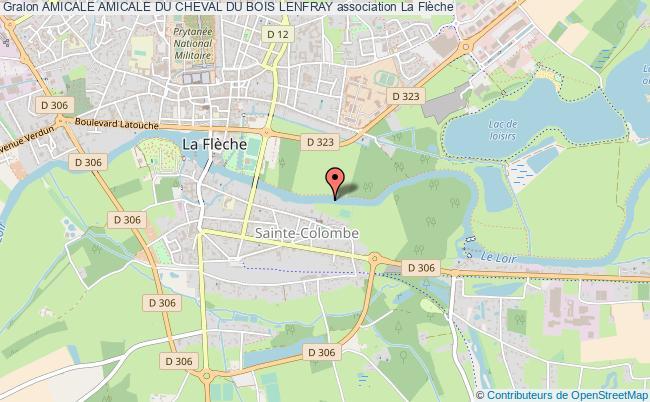 plan association Amicale Amicale Du Cheval Du Bois Lenfray