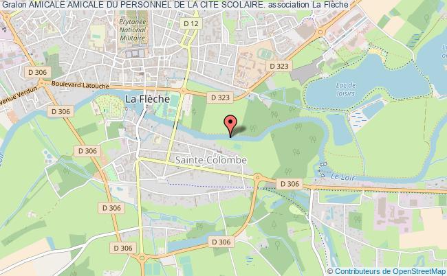 plan association Amicale Amicale Du Personnel De La Cite Scolaire.