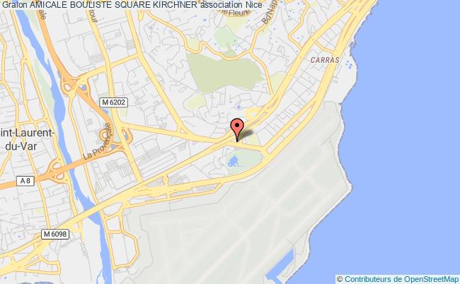 plan association Amicale Bouliste Square Kirchner