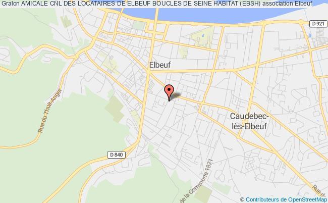 plan association Amicale Cnl Des Locataires De Elbeuf Boucles De Seine Habitat (ebsh)
