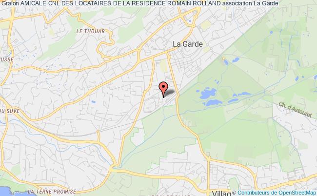 plan association Amicale Cnl Des Locataires De La Residence Romain Rolland