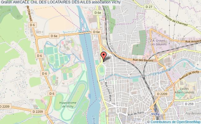 plan association Amicale Cnl Des Locataires Des Ailes