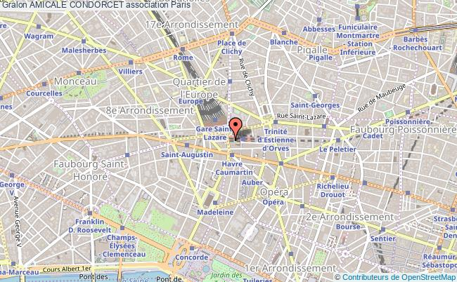 plan association Amicale Condorcet