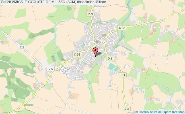 plan association Amicale Cycliste De Milizac (acm)