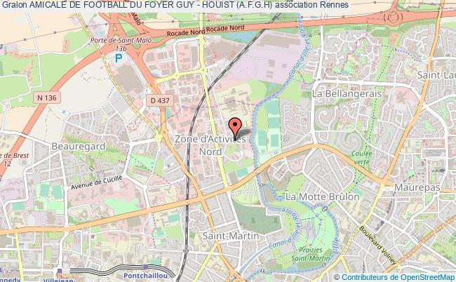 plan association Amicale De Football Du Foyer Guy - Houist (a.f.g.h)