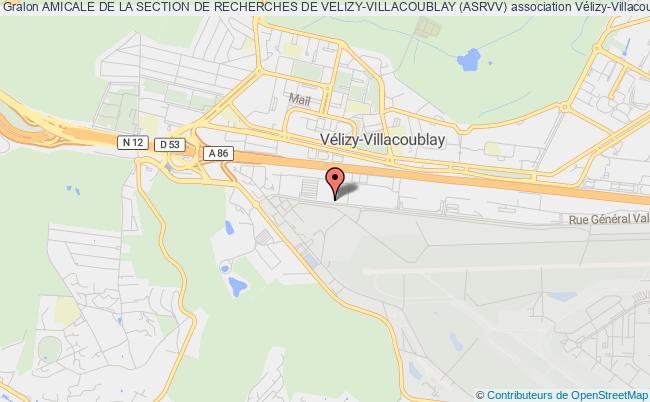 plan association Amicale De La Section De Recherches De Velizy-villacoublay (asrvv)