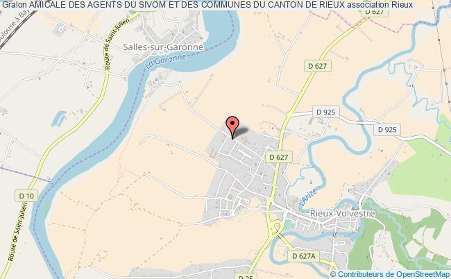 plan association Amicale Des Agents Du Sivom Et Des Communes Du Canton De Rieux