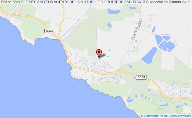 plan association Amicale Des Anciens Agents De La Mutuelle De Poitiers Assurances