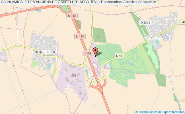 plan association Amicale Des Anciens De Garcelles-secqueville