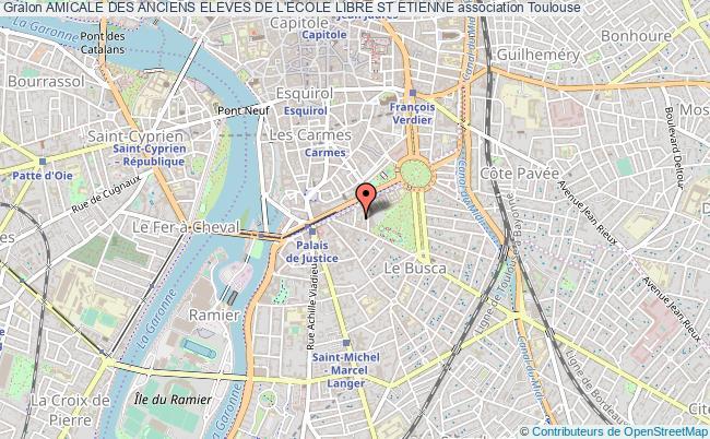 plan association Amicale Des Anciens Eleves De L'ecole Libre St Etienne