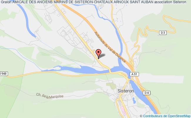 plan association Amicale Des Anciens Marins De Sisteron-chateaux Arnoux Saint Auban