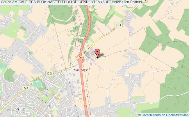 plan association Amicale Des Burkinabe Du Poitou Charentes (abp)
