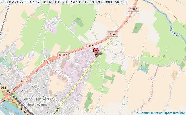 plan association Amicale Des CÉlibataires Des Pays De Loire
