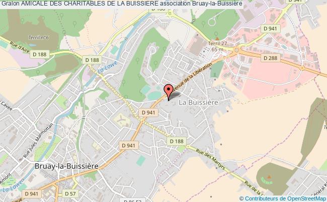 plan association Amicale Des Charitables De La Buissiere