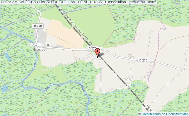 plan association Amicale Des Chasseurs De Liesville-sur-douves Liesville-sur-Douve