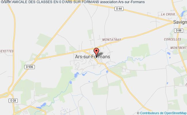AMICALE DES CLASSES EN 0 D'ARS SUR FORMANS