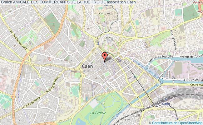 plan association Amicale Des Commercants De La Rue Froide