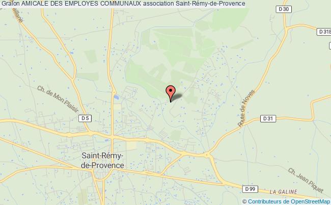 plan association Amicale Des Employes Communaux