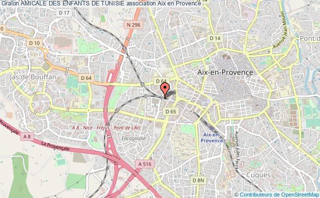 plan association Amicale Des Enfants De Tunisie