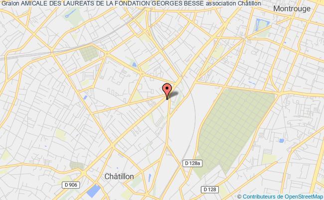 plan association Amicale Des Laureats De La Fondation Georges Besse Courbevoie