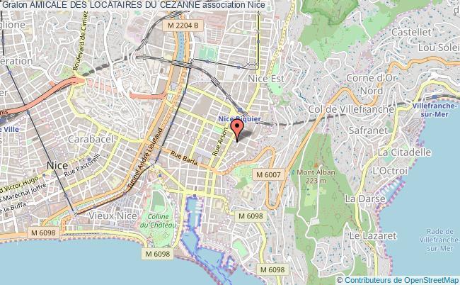 plan association Amicale Des Locataires Du Cezanne