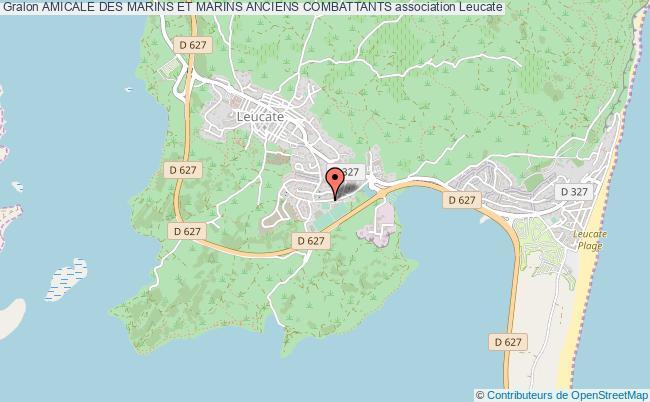 plan association Amicale Des Marins Et Marins Anciens Combattants Leucate