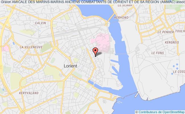 plan association Amicale Des Marins-marins Anciens Combattants De Lorient Et De Sa Region (ammac)