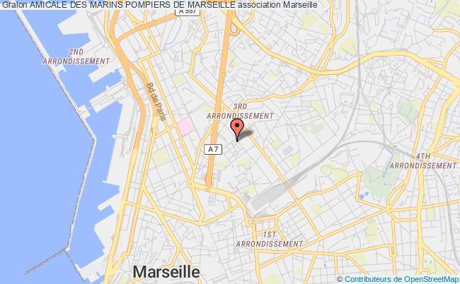 plan association Amicale Des Marins Pompiers De Marseille