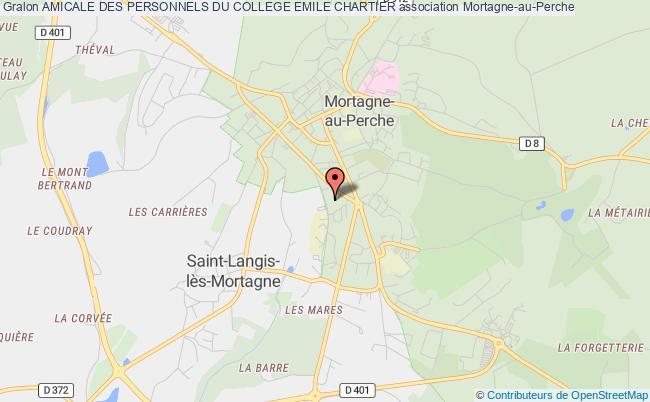 plan association Amicale Des Personnels Du College Emile Chartier