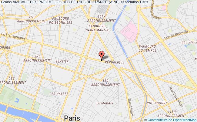 plan association Amicale Des Pneumologues De L'ile-de-france (apif)